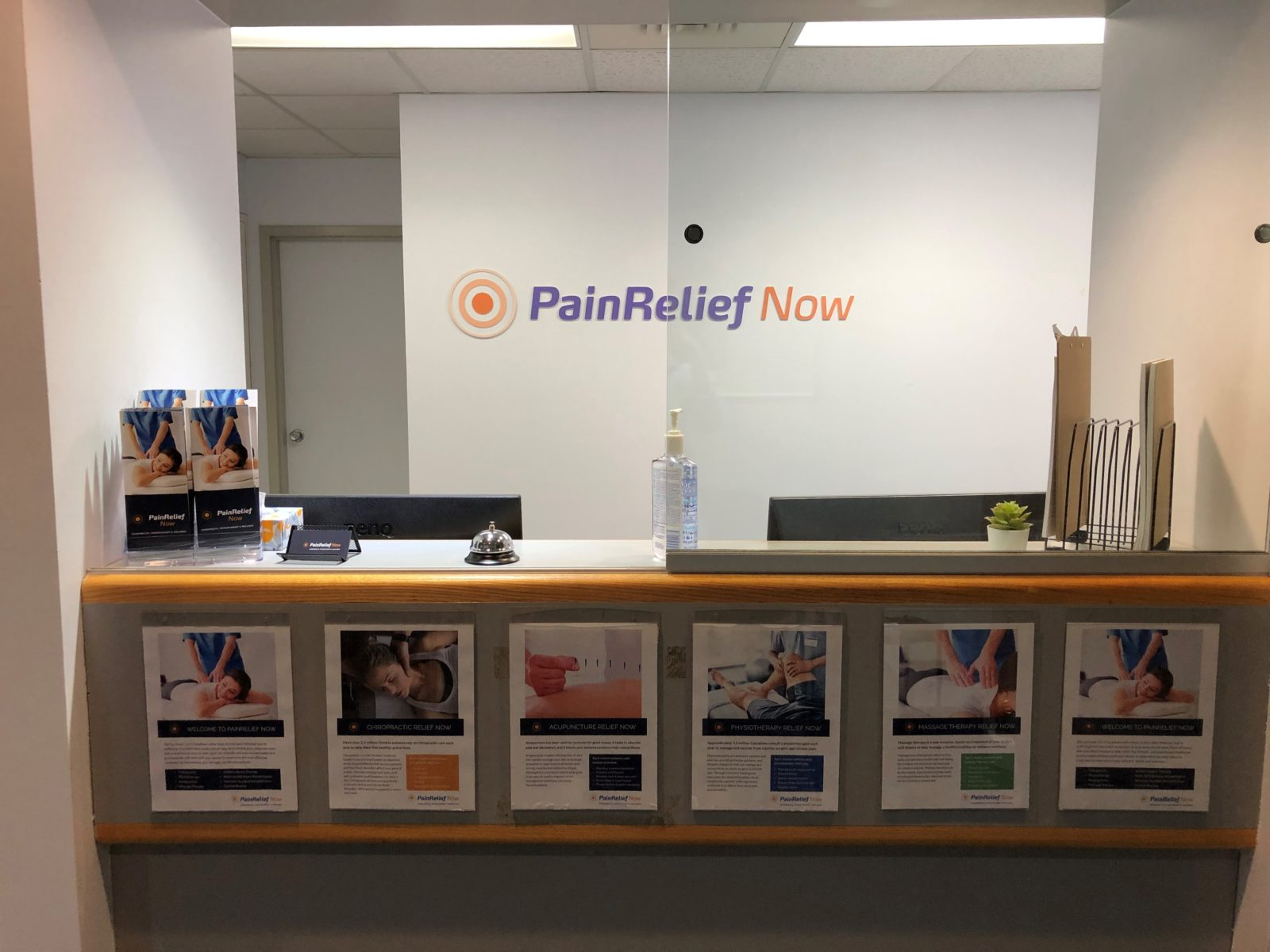 PainRelief Now Reception